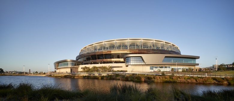 Optus Stadium | Design: COX Architecture, Hassell, and HKS | Images: Peter Bennetts | Builtworks.com.au