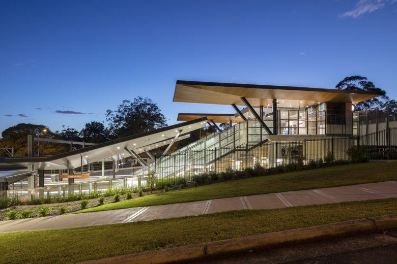 Cheltenham Station | Design: Cox Architecture | Images: Tom Ferguson | Builtworks.com.au