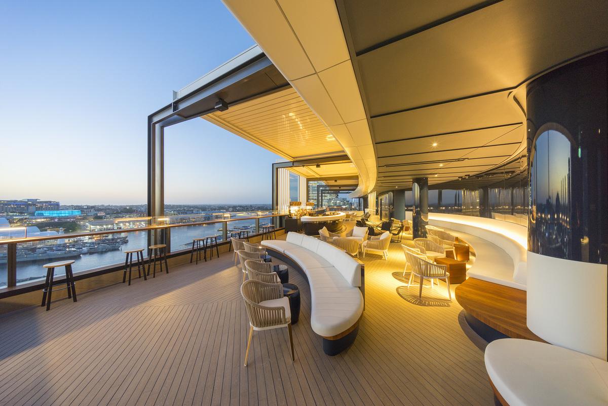 Hyatt Regency Sydney   Design: Cox Architecture   Images: John Gollings   Builtworks.com.au