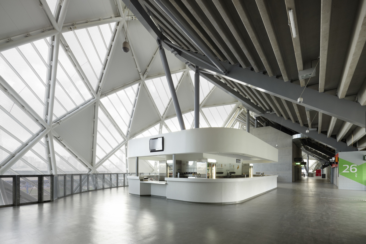AAMI Park | Design: COX | Images: Dianna Snape | Builtworks.com.au