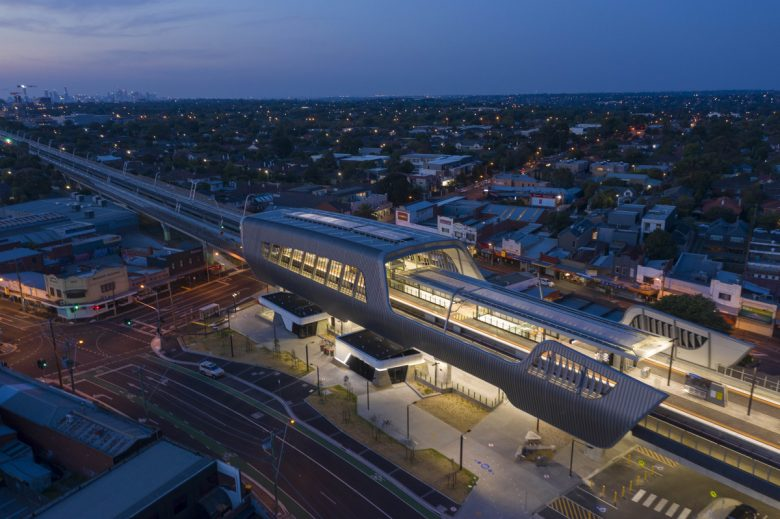 Caulfield to Dandenong Level Crossing Removal | Design: Cox Architecture | Images: Peter Clarke
