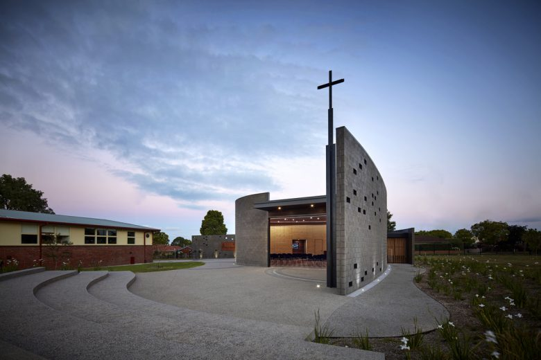 Mary's Chapel, St Joseph's College | Design: Baldasso Cortese Architects | Image: Peter Bennetts | Builtworks.com.au