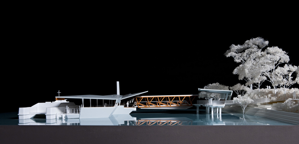 Brisbane Ferry Terminals | Design: COX Architecture | Builtworks.com.au