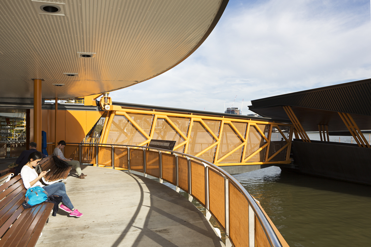 Brisbane Ferry Terminals | Design: COX Architecture | Image: Christopher Frederick Jones/ Ross Pottinger | Builtworks.com.au