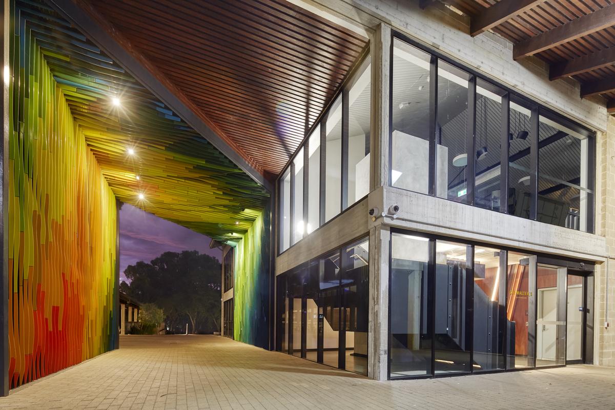 Murdoch University Student Hub   Design: Hames Sharley   Image: Robert Frith   Builtworks.com.au