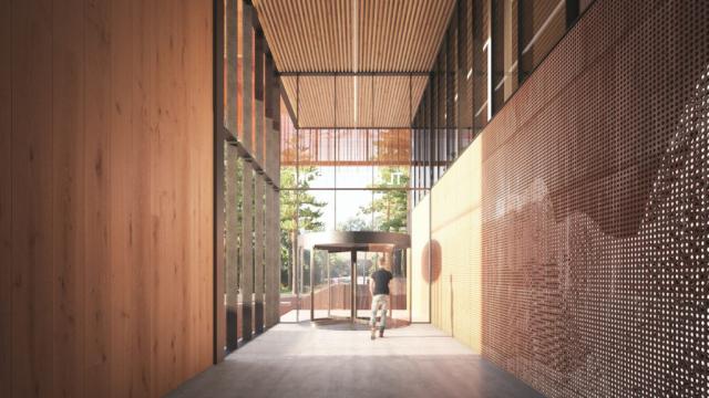 TL Robertson Library Curtin University | Design: Hames Sharley and Schmidt Hammer Lassen | Builtworks.com.au