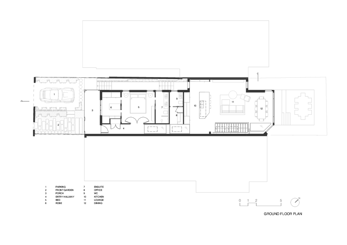 Doorzien House | Design: BIJL Architecture | Ground Floor Plan | Builtworks.com.au