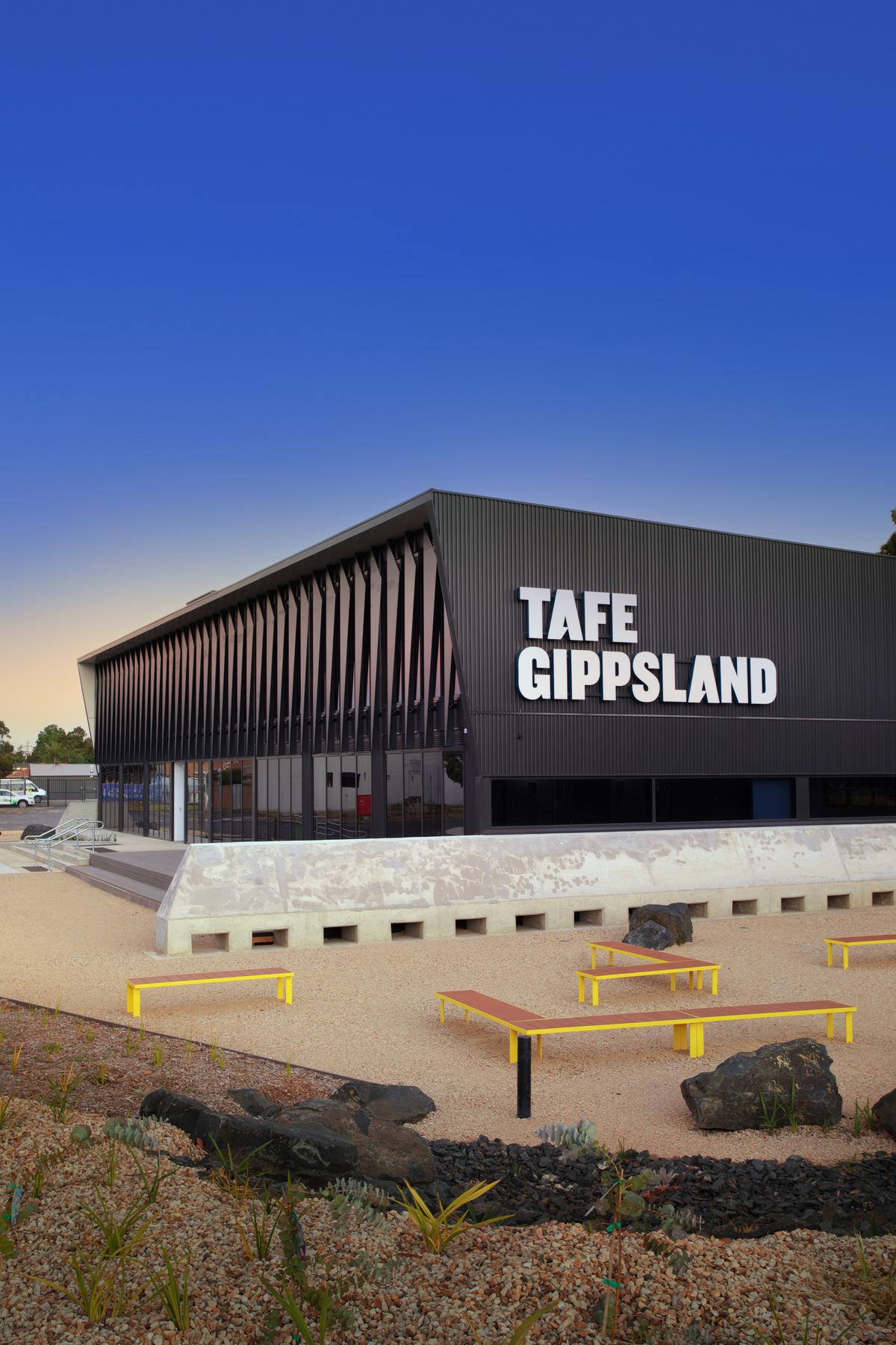 Morewell TAFE | Design: GHD Woodhead | Image: Sherise Fleming | Builtworks.com.au